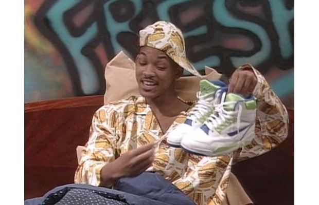 11db8c6b4f0043 A Complete Guide To The Fresh Prince of Bel-Air s Sneakers ...